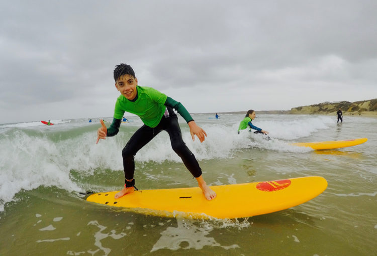 Surfing Lessons For Young People In Conil de la Frontera