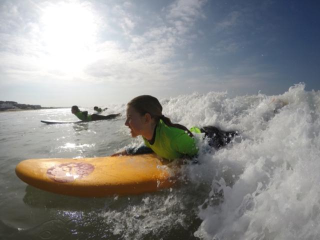 Surfing beaches Conil Spain