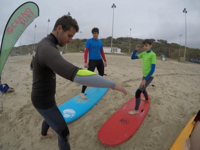 Surf School in Spain