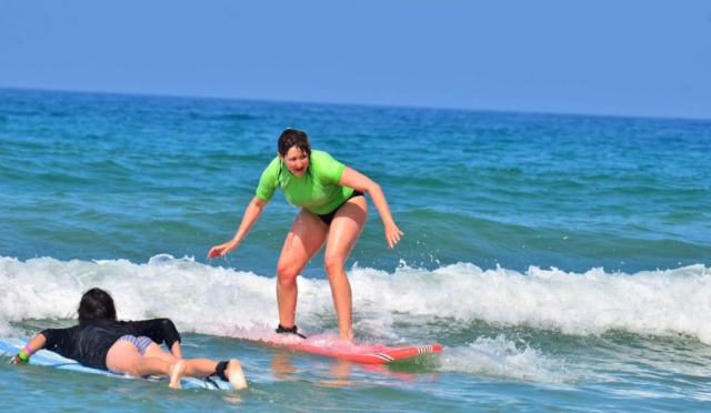 Surf in Spain With A Surf School