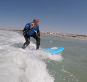 Surfing in Conil with Oceano Surf School