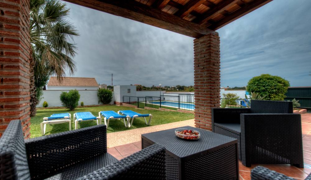 Swimming pools family villas