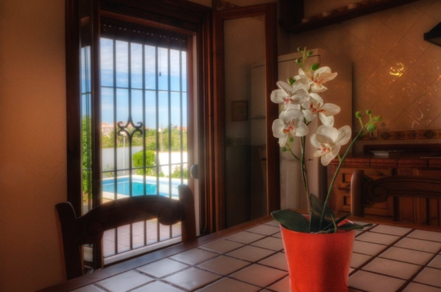 Family villas for 6 people on holiday in Conil de la Frontera